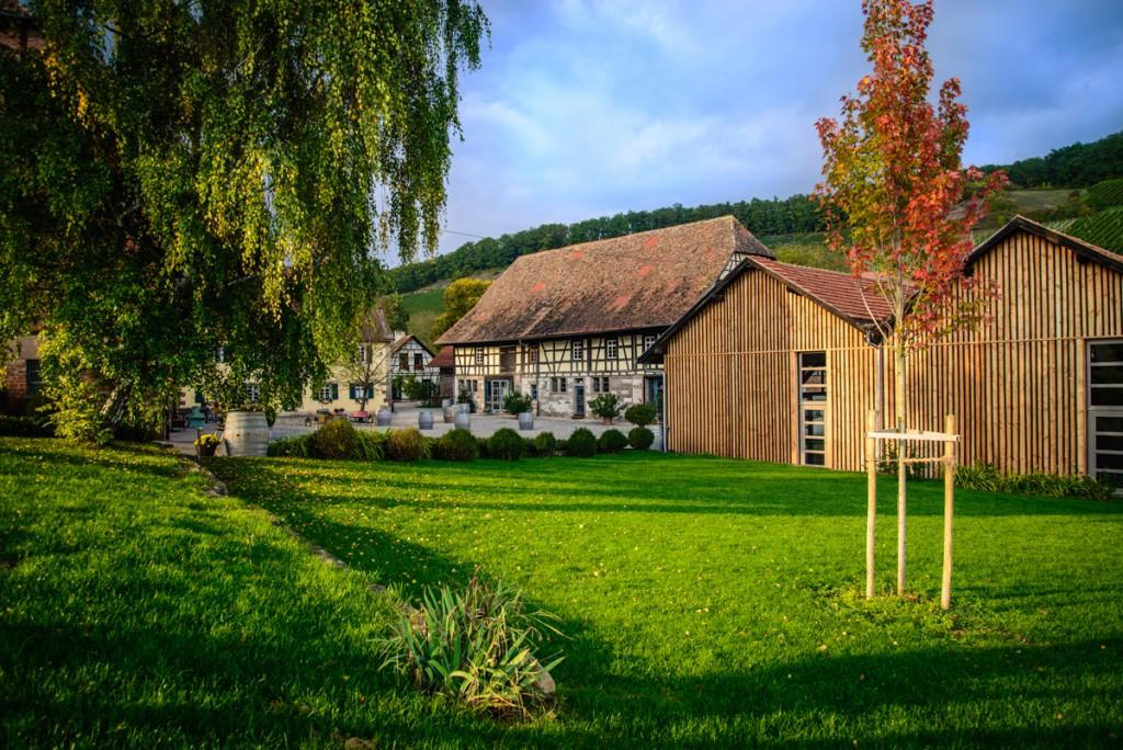 Außenansicht des Weingut Steinbachhof. Eine Location empfohlen von Nixdorf Events GmbH.