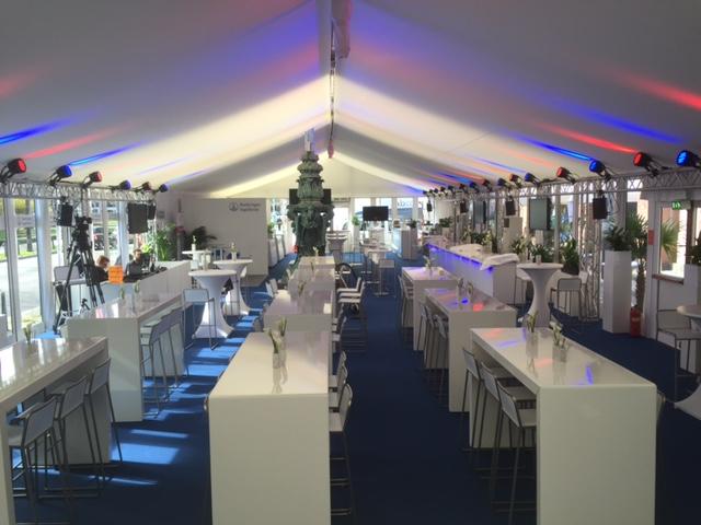 Medizinischer Kongress Mannheim. Aufbau eines Medizinischen Kongress in Mannheim begleitet durch die Nixdorf Events GmbH